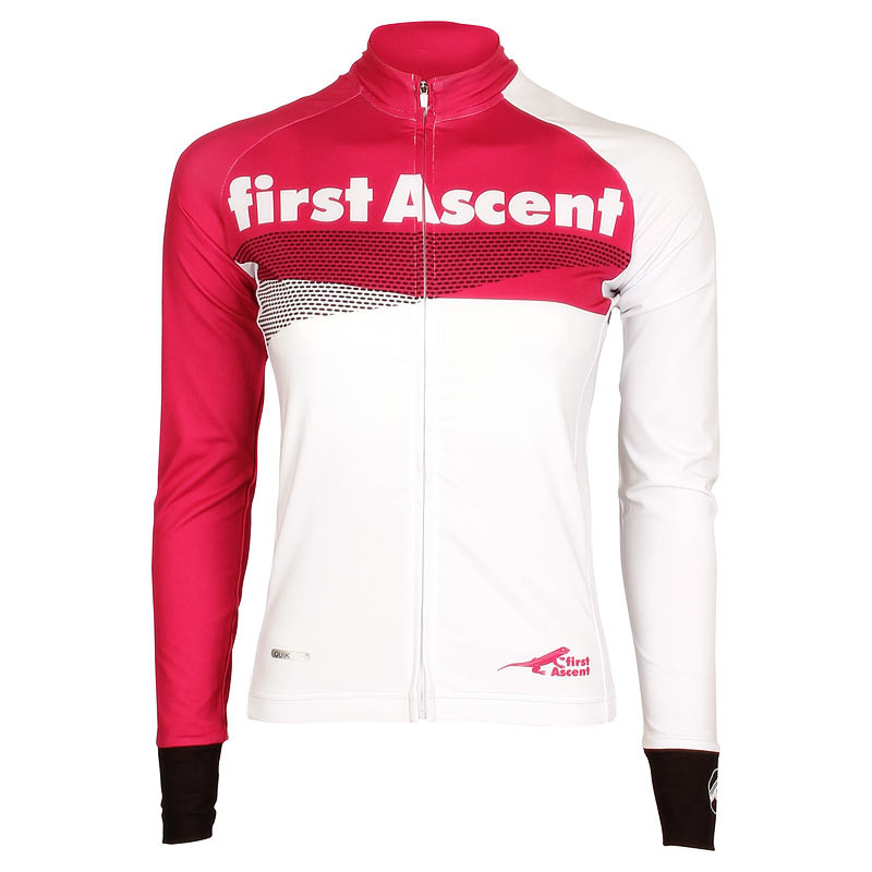 First Ascent Ladies Breakaway Long Sleeve Cycling Jersey