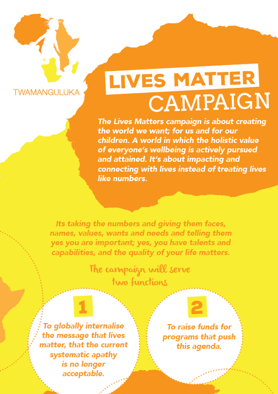 Progress Namibia - The Lives Matter Campaign