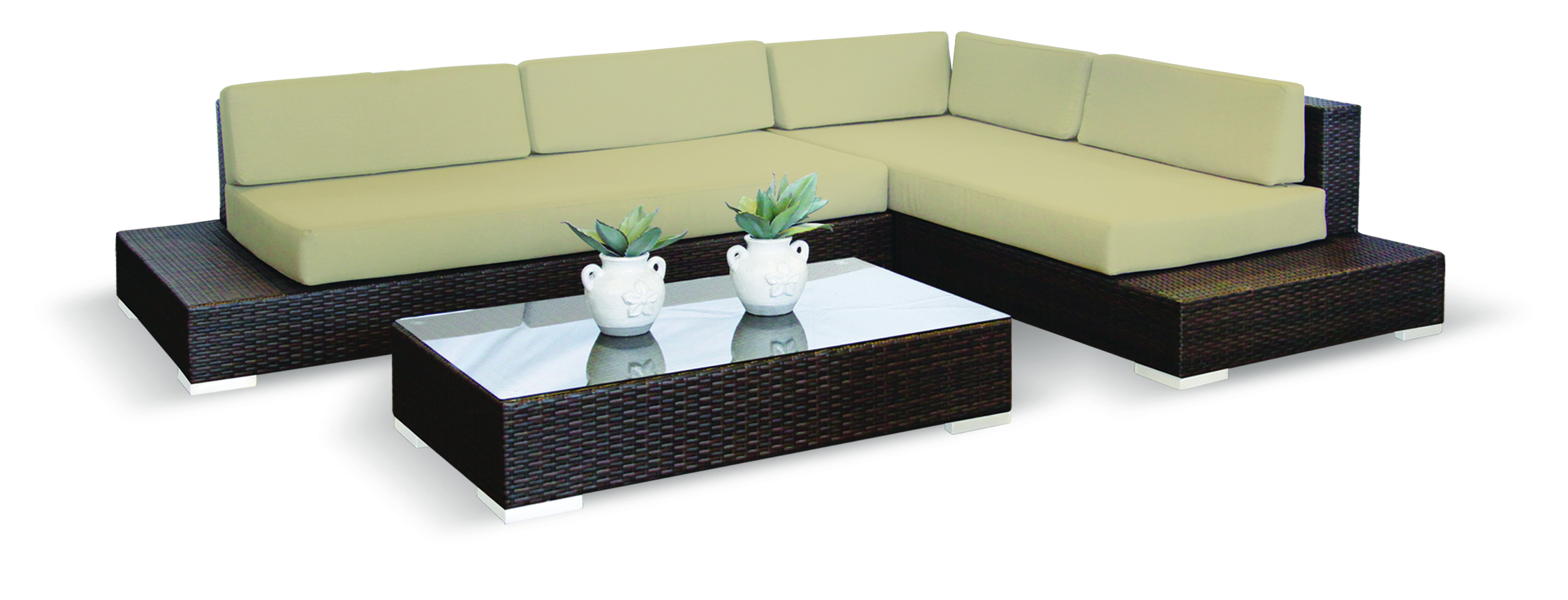 Polina lounge Suite brown