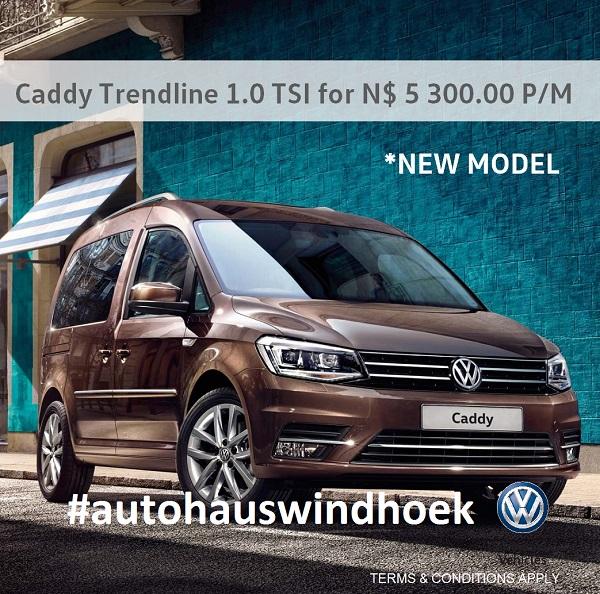 Caddy Trendline TSI for N$ 5300 P/M