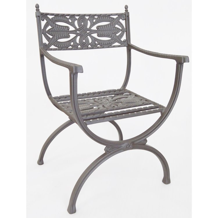 Cast Aluminium Chair 3
