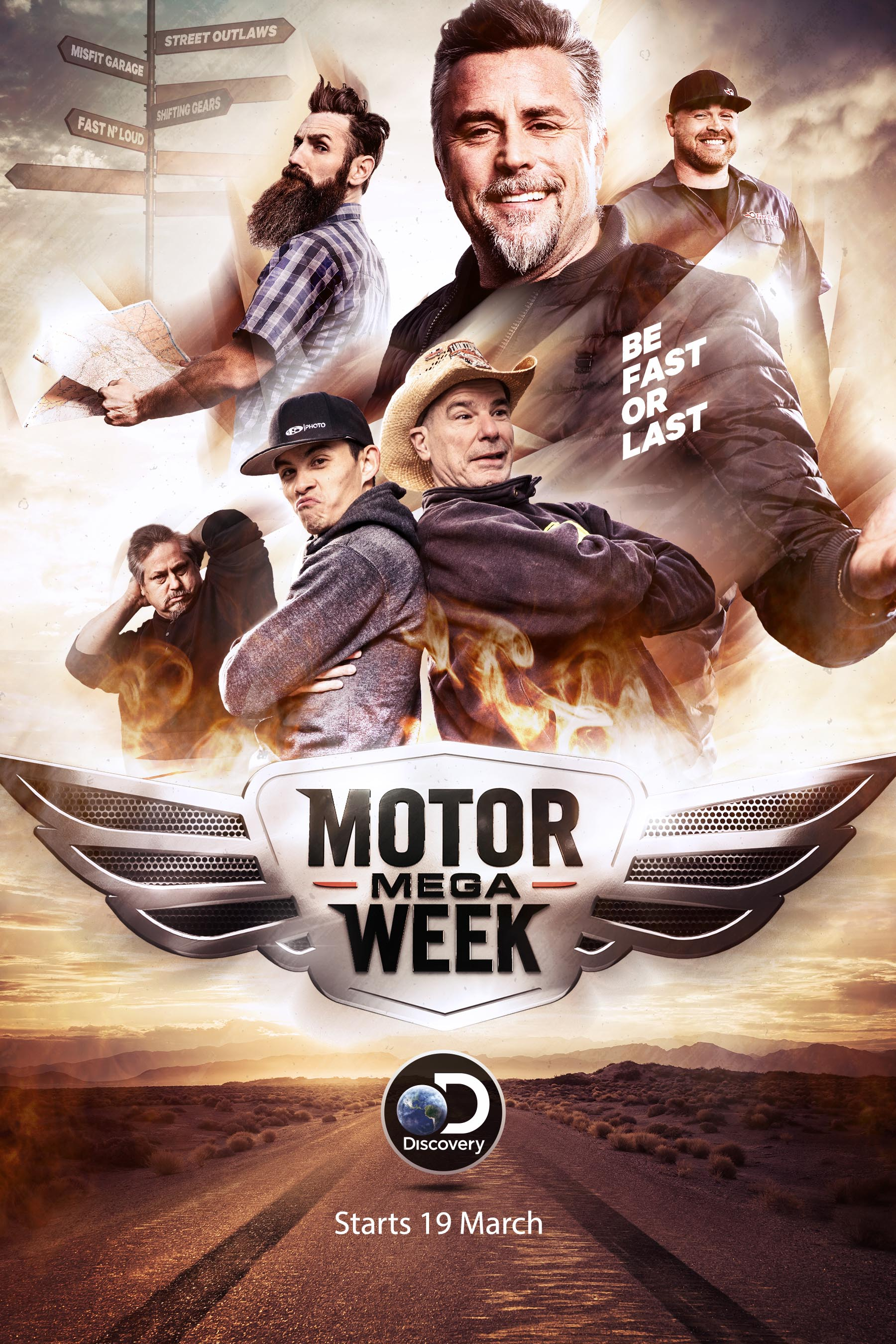 Discovery goes full throttle for Motor Mega Week starting 19 March