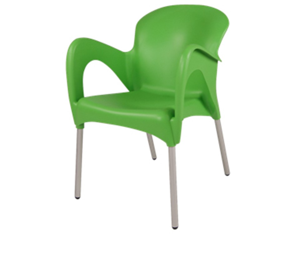 Cafe chair - Lime green