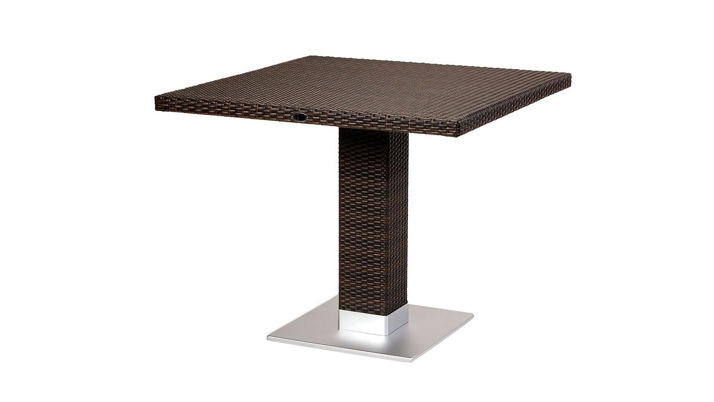 Piarro Pedestal Dining table Brown