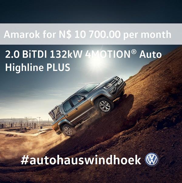 Amarok Highline Plus 132KW for N$ 10700 P/M