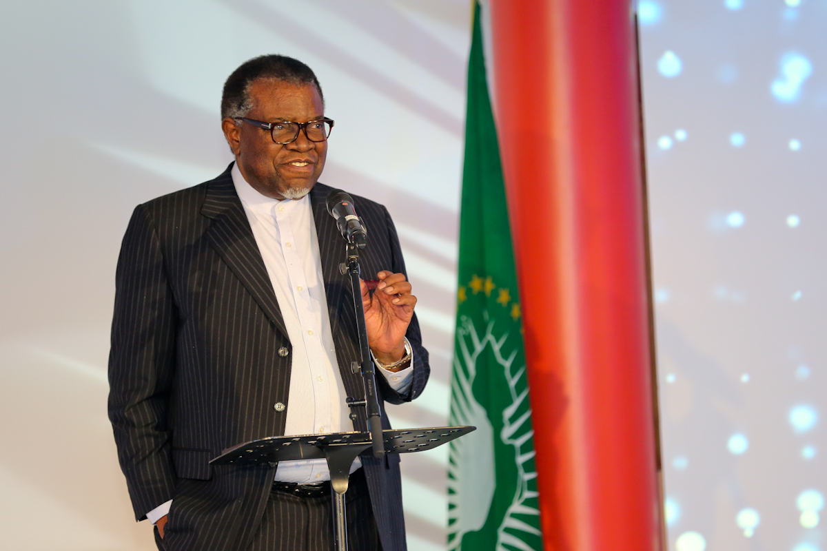 Speech by His Excellency Dr. Hage Geingob, President of the Republic of Namibia