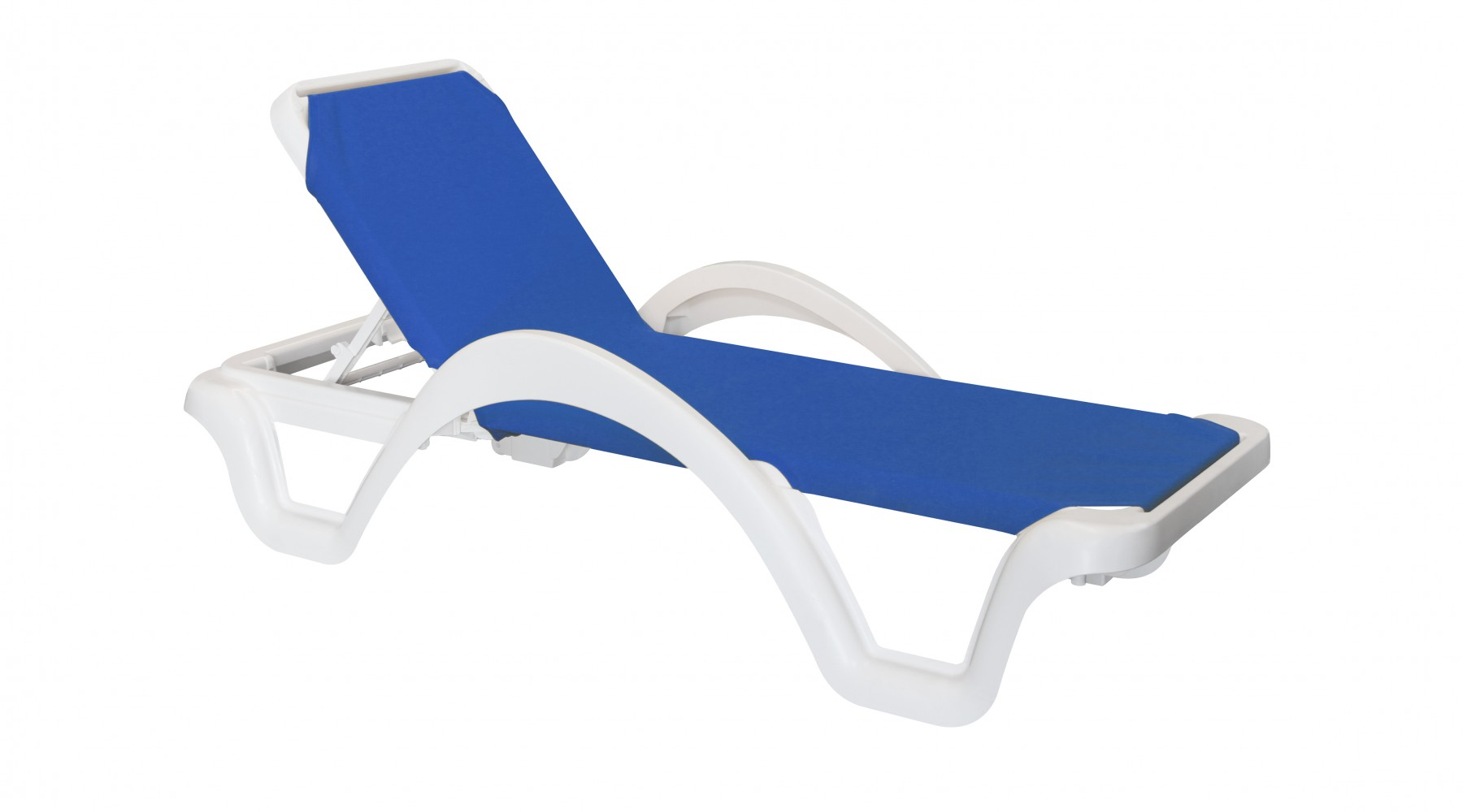 Cruise Liner Sun Lounger - Blue