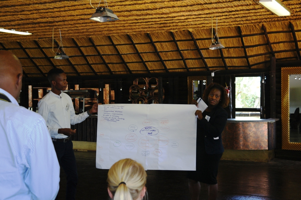Progress Namibia - The FRACTAL LAB: a learning experience for me (by Reinhold Mangundu)
