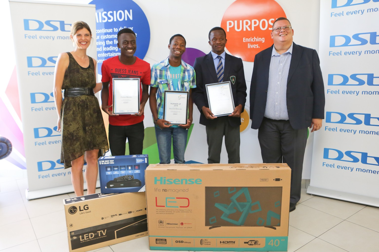 NAMIBIAN LEARNERS EMBRACE SCIENCE AND TECHNOLOGY THROUGH DStv EUTELSAT STAR AWARDS