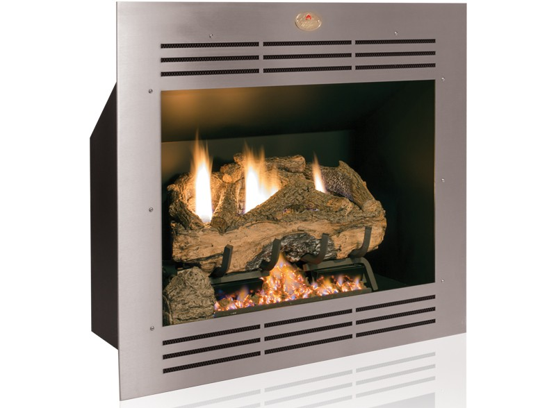 Built in Firebox Gas Vent Free