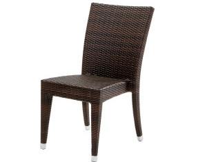 Sasha Dining side chair brown