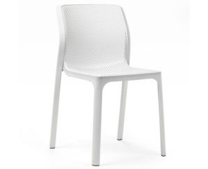 Nura Dining side chair white