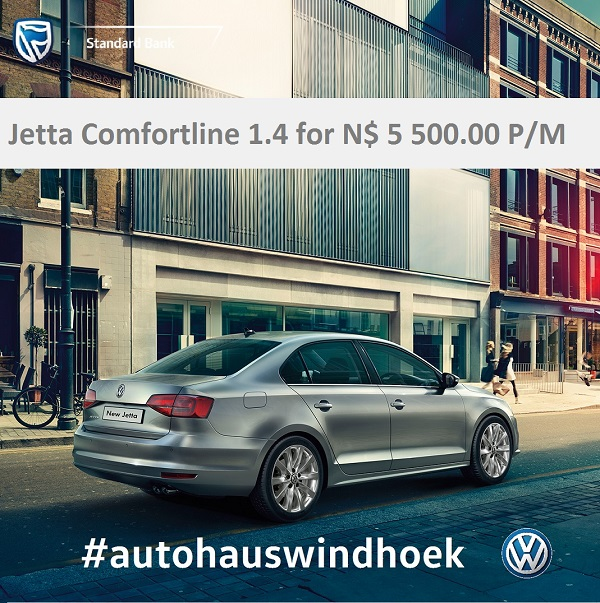 Jetta 1.4 Comfortline for N$ 5500.00 P/M
