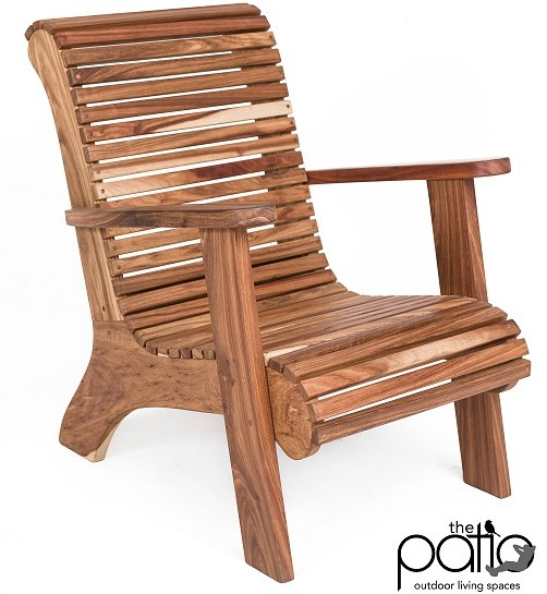 Comfort Kiaat Chair