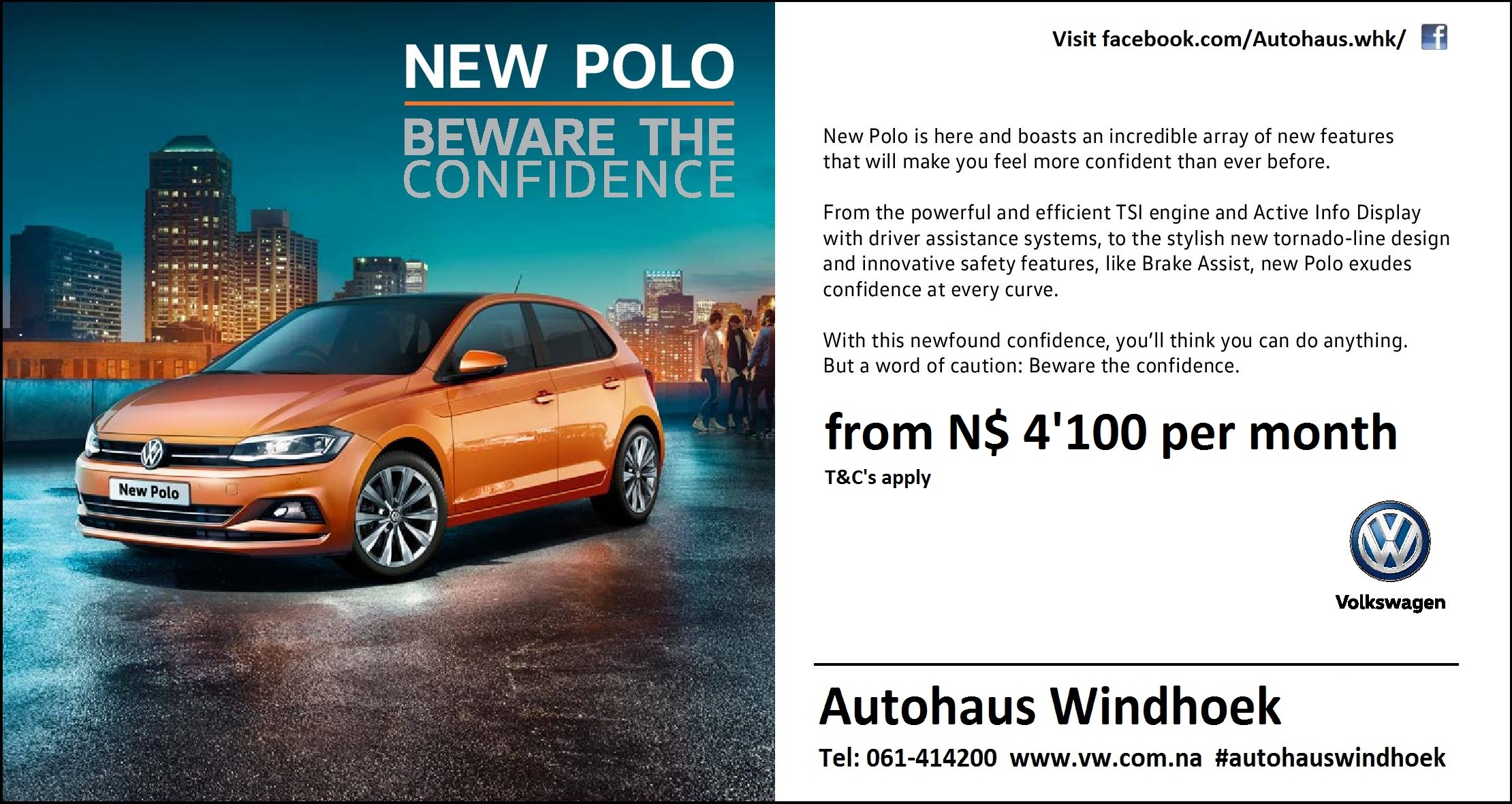 New Polo Beware Confidence