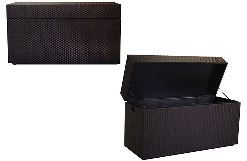 Cushion Box - Dark Brown