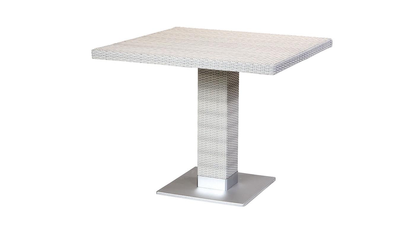 Piarro Pedestal Dining table white
