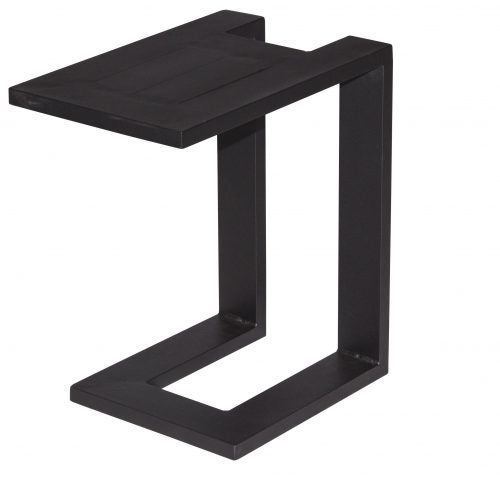 U Side table - black