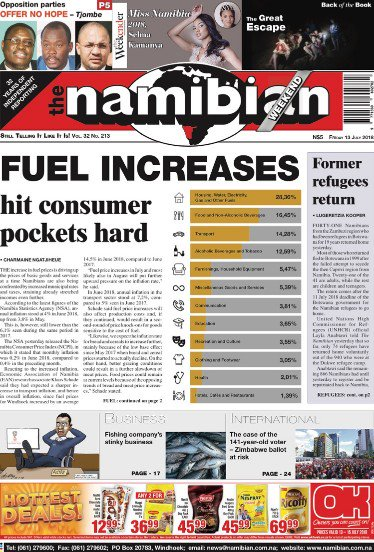 Progress Namibia - Fuel prices are increasing: could this be a good thing?