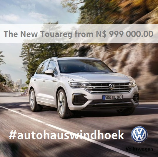 New Touareg for N$ 999 000