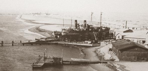 Etosha Fishing 1940s