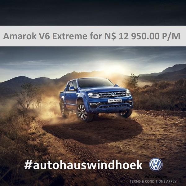 Amarok V6 Extreme for N$ 12950 P/M