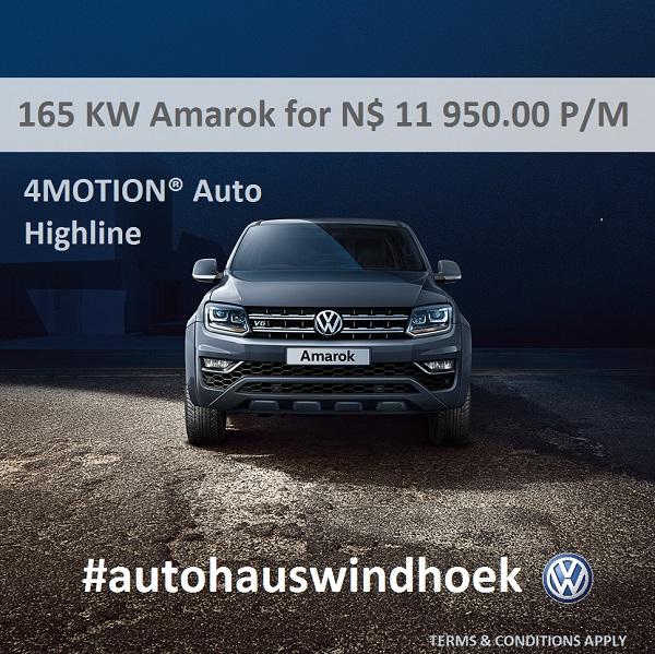 165 KW Amarok for N$ 11700 P/M