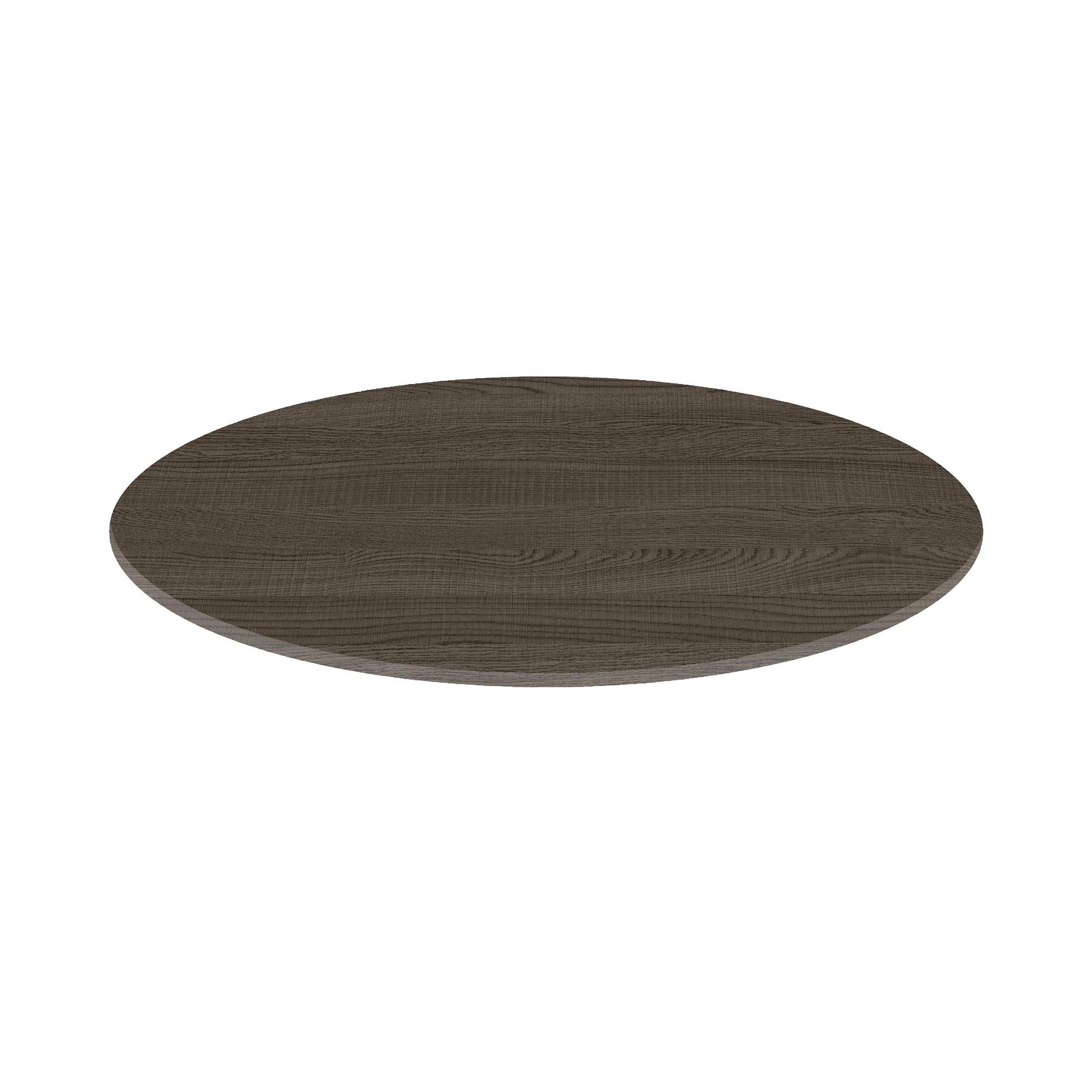 Round table top 70cm - Dark oak