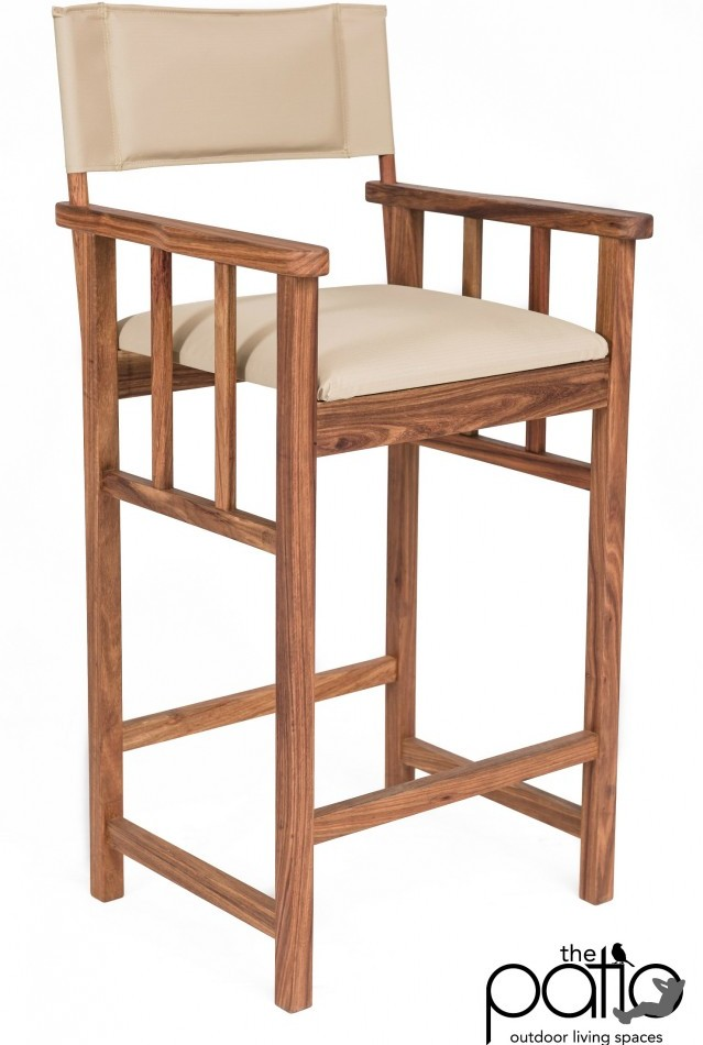 Kiaat Director Bar Chair
