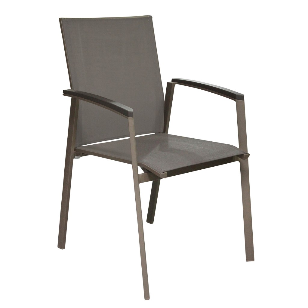 Tino grey arm chair