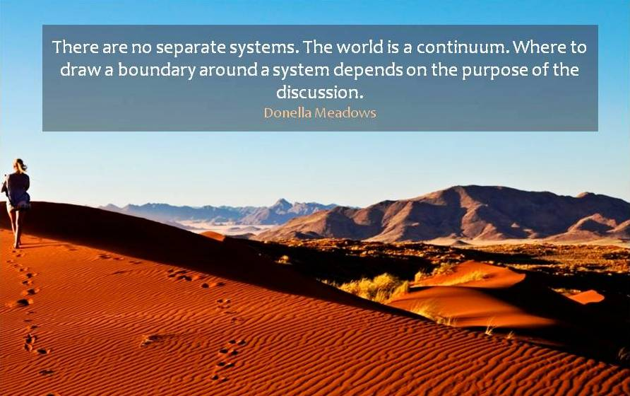 Progress Namibia - Wisdom from Dana Meadows: Places to intervene in a system