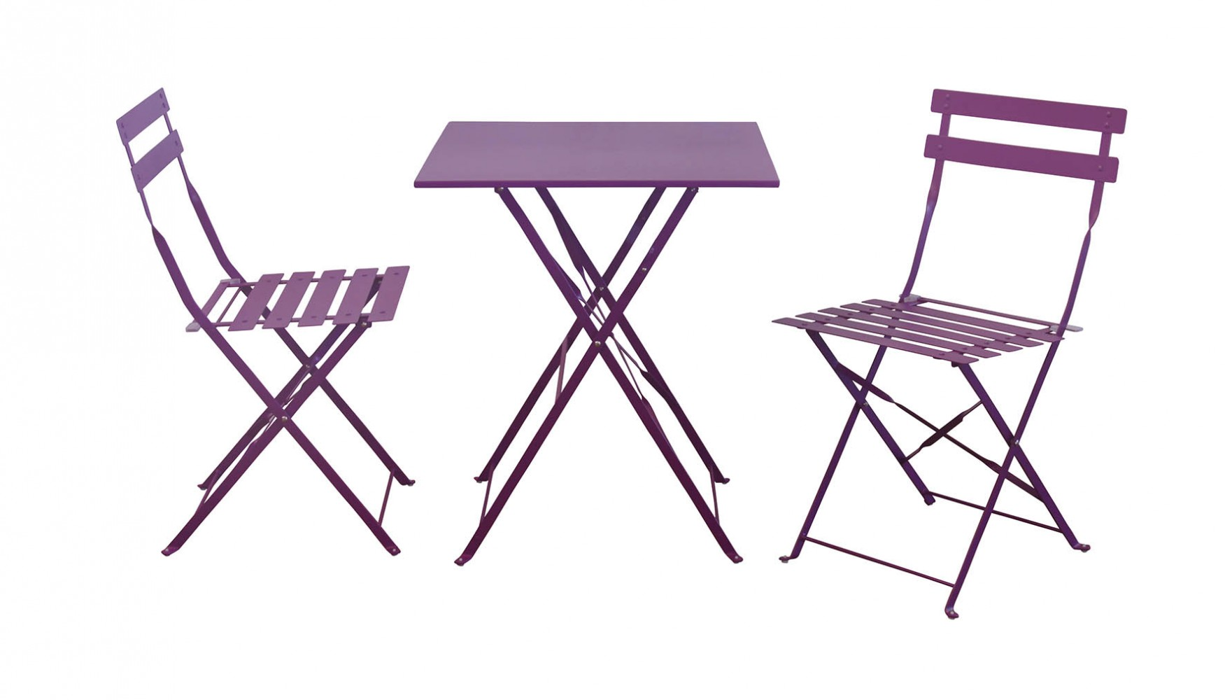 Maurizio Chat Set Purple