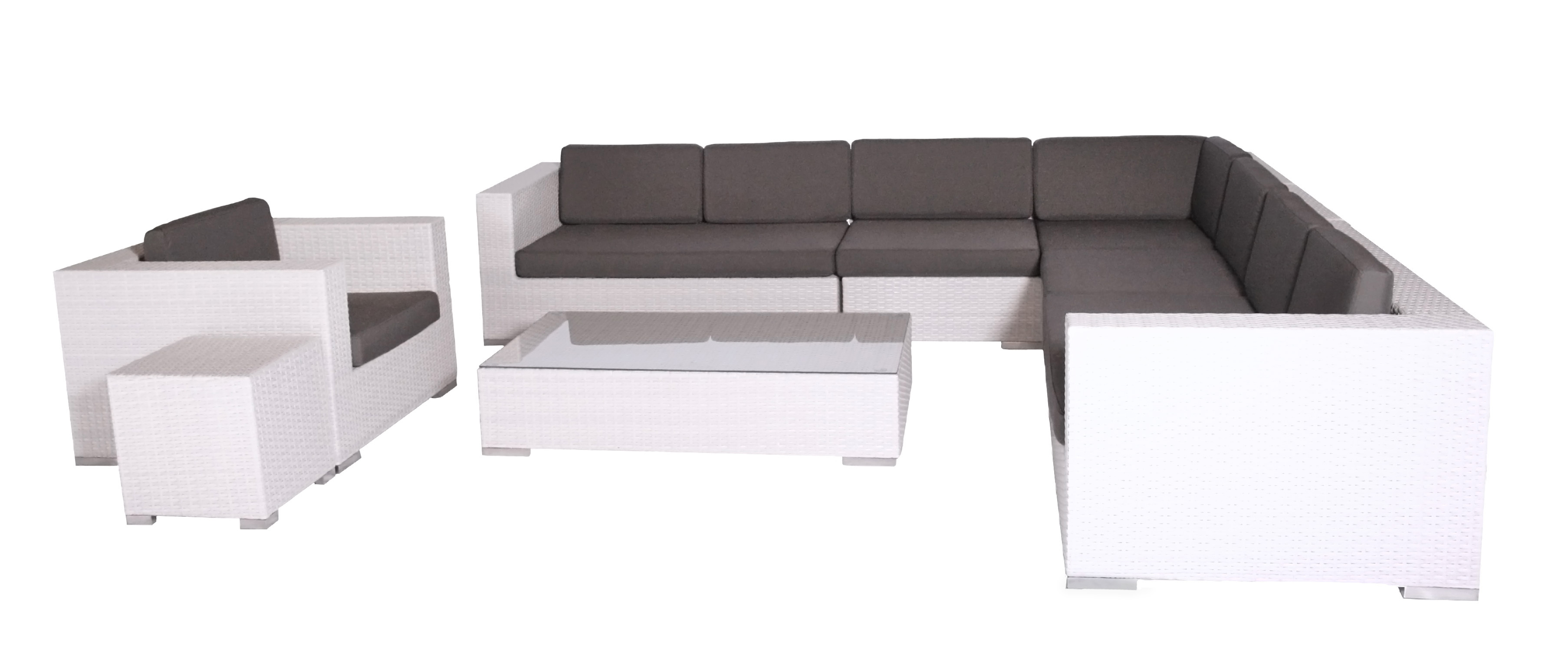 Pavel Lounge Suite white
