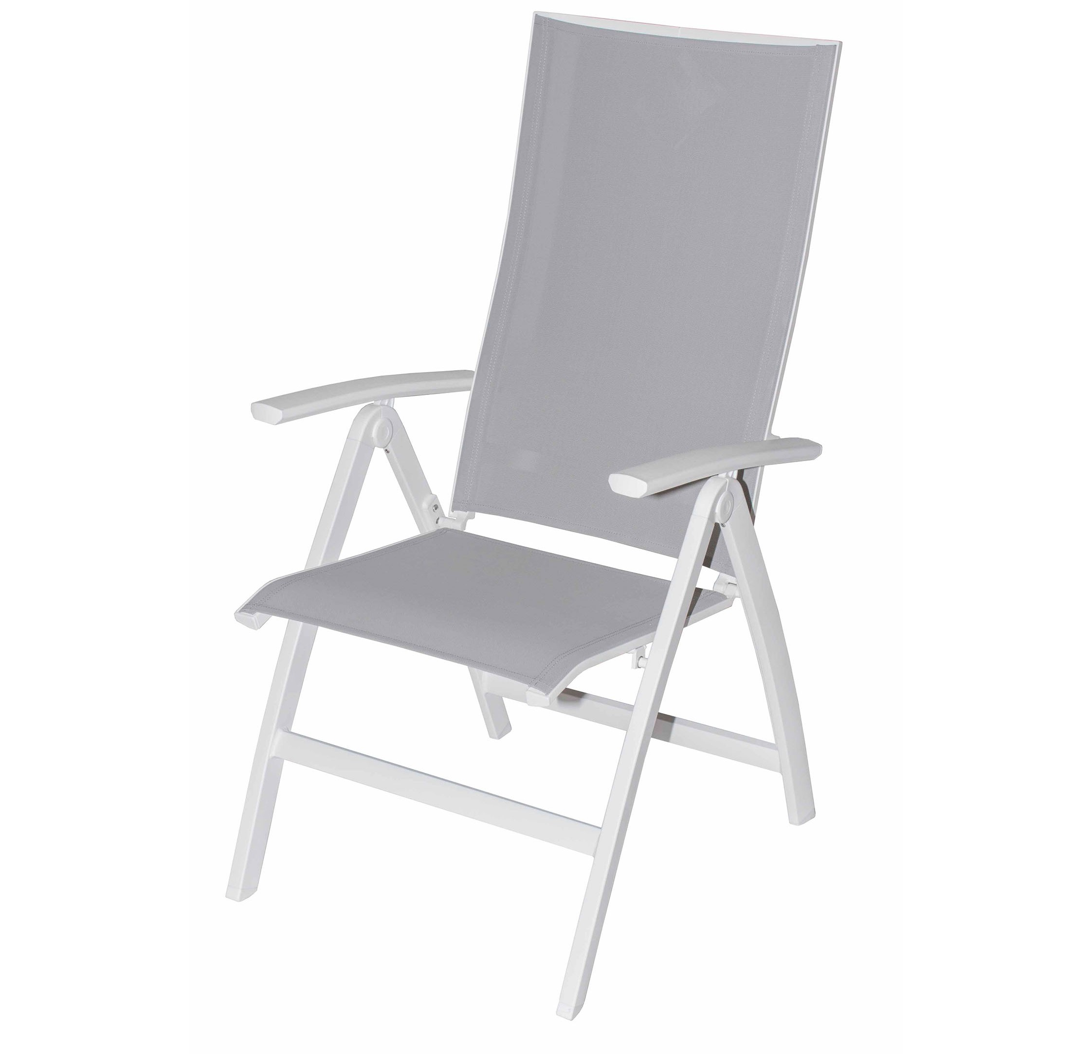 Morgan dining arm chair white