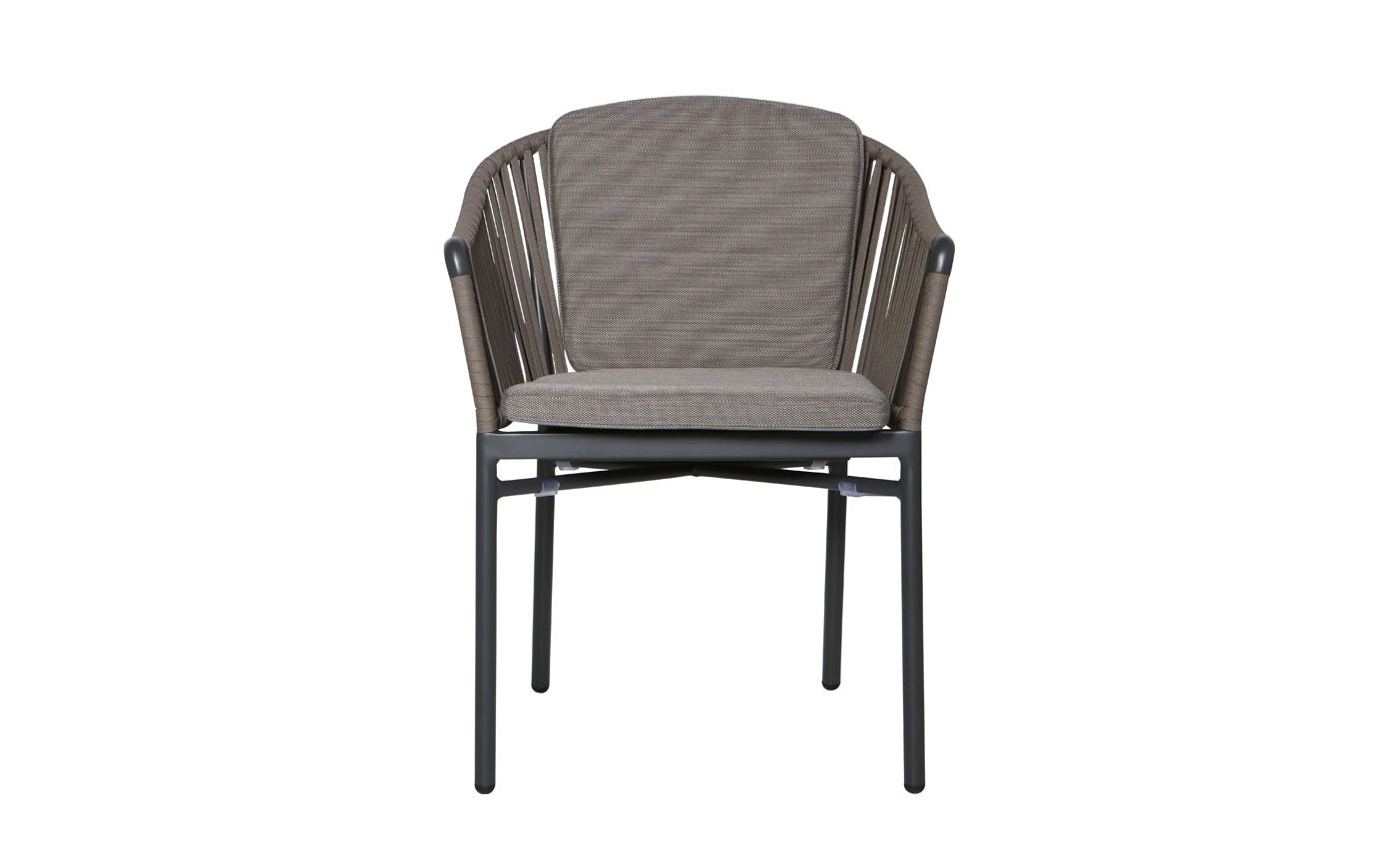 Xander Dining arm chair Anthracite