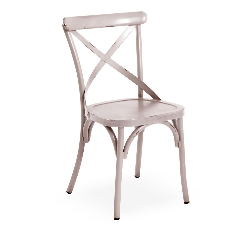 Lorry white dining side chair