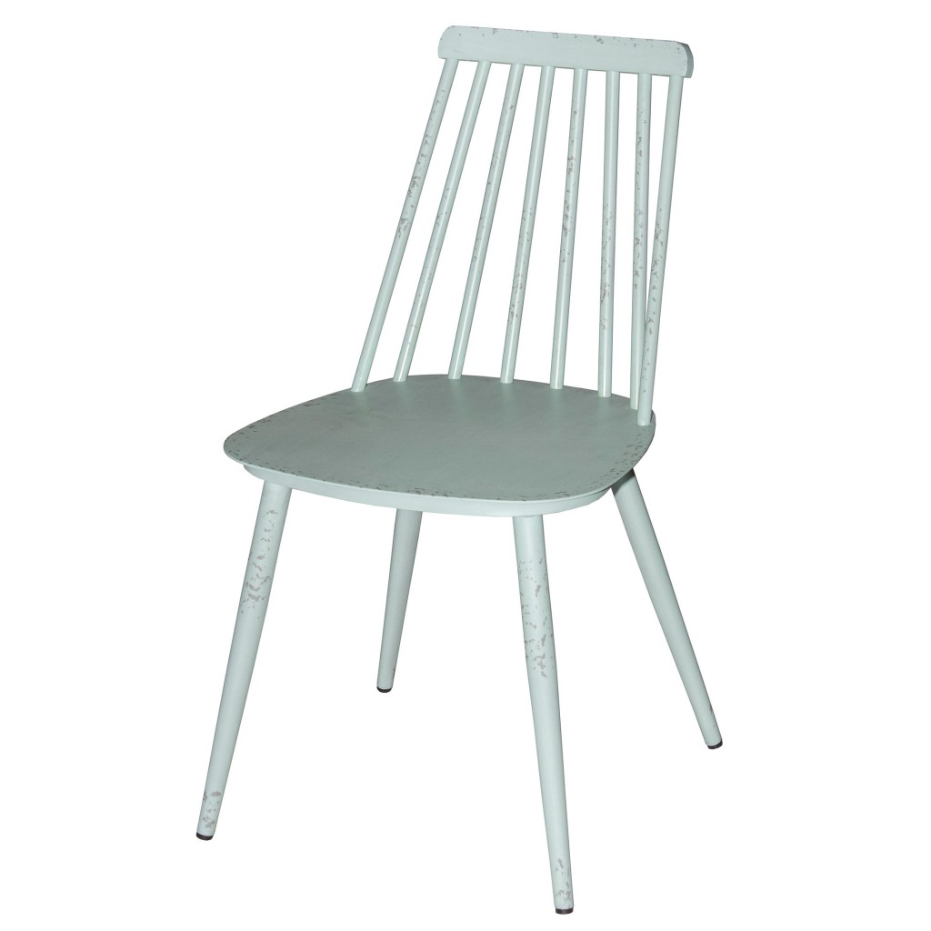 Corr blue dining side chair