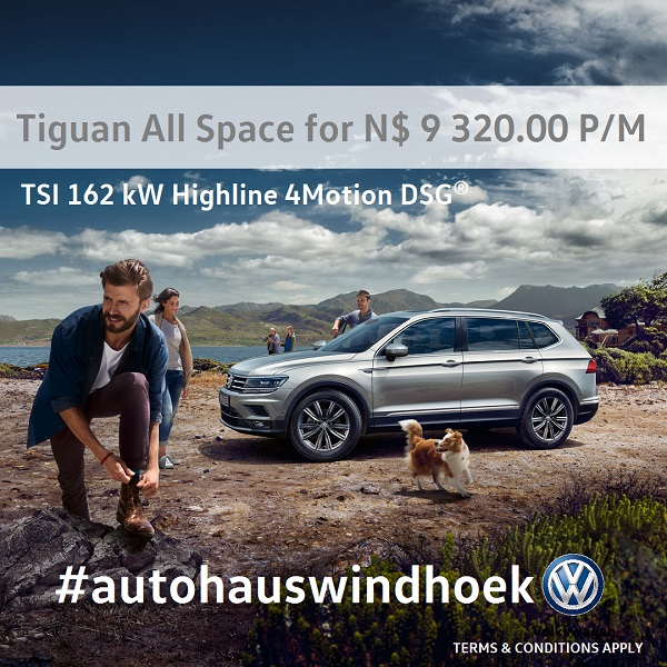 Tiguan All Space for N$ 9 320 per month