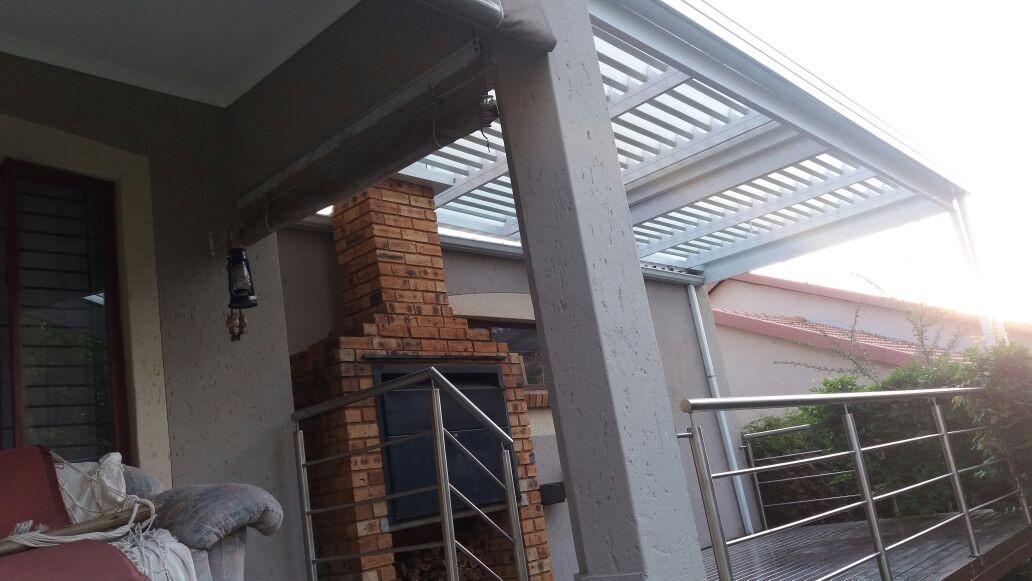 adjustable aluminium louvre awnings - Quality shading ...