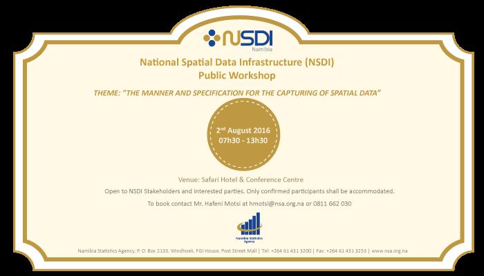 NSDI Workshop