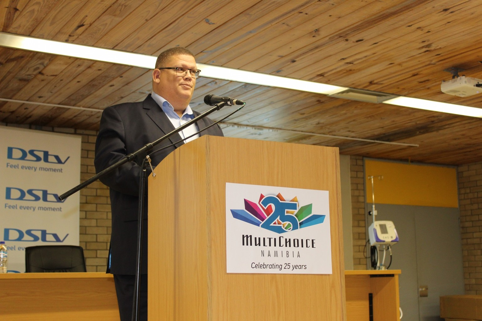 MESSAGE BY ROGER GERTZE, GENERAL MANAGER MULTICHOICE NAMIBIA