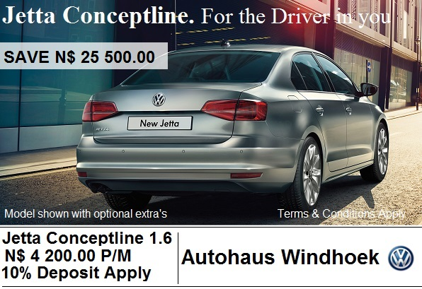 Jetta Conceptline for N$ 4220 P/M