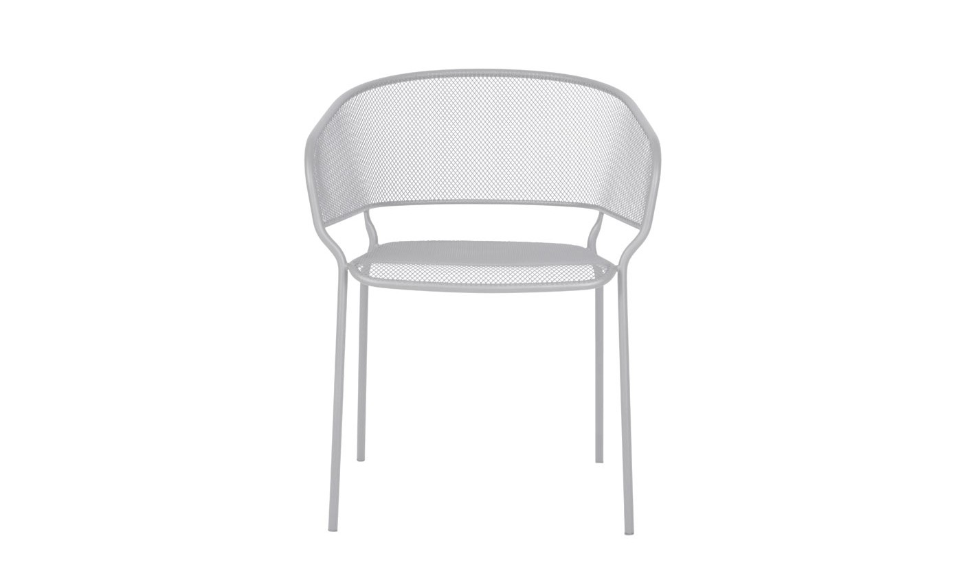 Camo Dining arm chair White