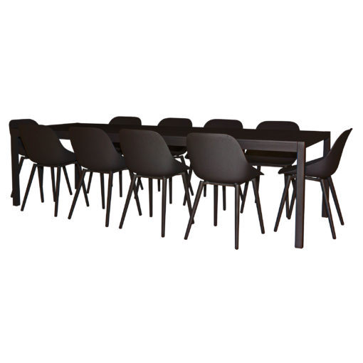 Terrace 10 seater Black