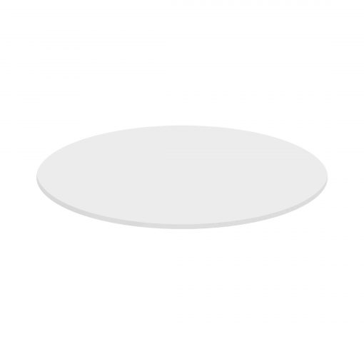 Round table top 70cm - White