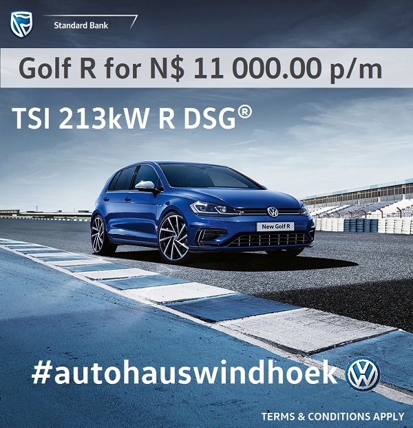 Golf R for N$ 11 000 per month