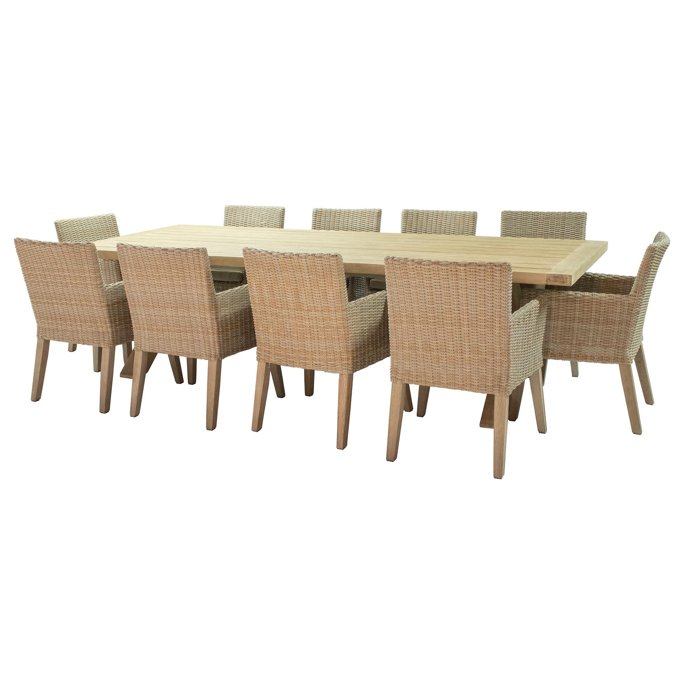 Grip 10 seater Dining set