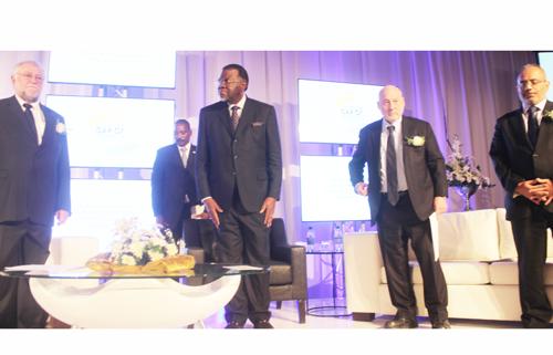 Progress Namibia - Stiglitz visits Namibia to advise our Government
