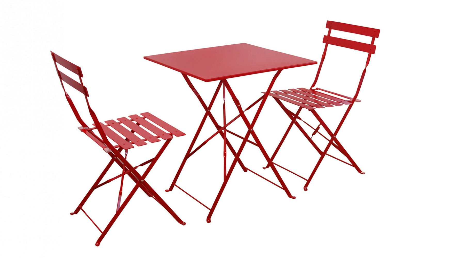 Maurizio Chat Set Red