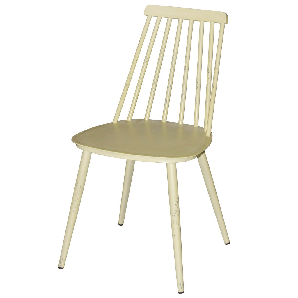 Corr yellow dining side chair